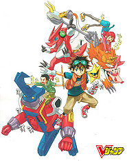 Digimon Xros Wars promo art