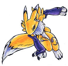 Renamon (Digimon Tamers: Battle Spirit)