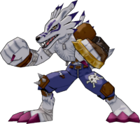 WereGarurumon DSAM Model.png