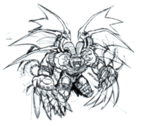 Belphemon rage 20th sketch2.png