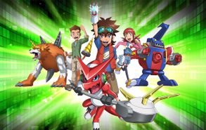 Digimon Fusion promo art