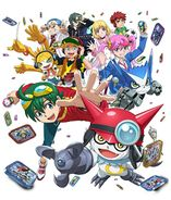 Digimon Universe Appli Monsters project poster
