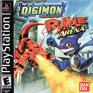 Digimon Rumble Arena Box Art