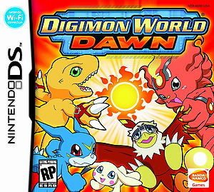 Digimon World Dawn Box Art