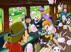 Digimon Frontier promo art