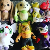 Digimon tamers plushes collection namco craneking.jpg
