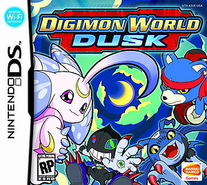 Digimon World Dusk Box Art