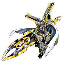 Alphamon: Ouryuken (Digimon Crusader)