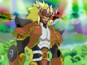 Agnimon from Digimon Frontier.