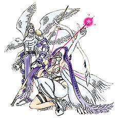 Angemon & Angewomon (Digimon Crusader)