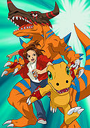 Digimon Savers promo art