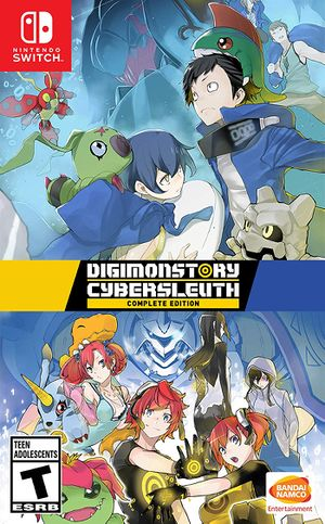 Digimon Story: Cyber Sleuth Complete Edition Box Art