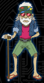 Old Clock Shop Man - Wikimon - The #1 Digimon wiki