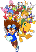 Digimon Adventure poster