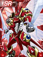 Gallantmon Crimson Mode Card