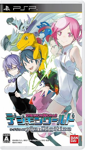 Digimon World Re:Digitize Box Art