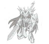 Shoutmonx3sd sketch super xros wars2.png