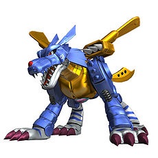 Metal Garurumon (Digimon All-Star Rumble)