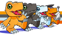 Agumon variants.png