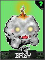 Linea evolutiva: Wizardmon 150px-Mokumon_Collectors_Baby_Card