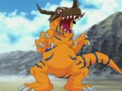 Greymon from Digimon Adventure