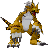 Growlmon (Orange) DSAM Model.png