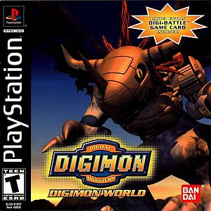 Digimon World Box Art