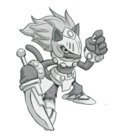 Spadamon sketch super xros wars14.png